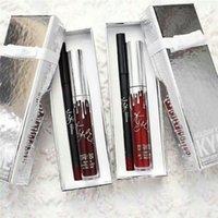 Wholesale Kylie Jenner Christmas Gift Matte Lipgloss kits Kylie Holiday Edtion Vixen Merry Ornament Lip Kits Good Quality
