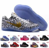 Wholesale 2016 Kobe XI EM Basketball Shoes For Men All Star Kobe xi Elite Low Cut Mesh Sneakers Shoes