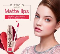 Wholesale O TWO O Naked Brand High Quality Matte Color Lip Gloss Easy to Wear Long Lasting Kyli Lips Makeup Lipstick Liquid Lipgloss Matte F894