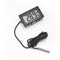 Wholesale Professinal Mini Digital LCD Probe Aquarium Fridge Freezer Thermometer Thermograph Temperature for Refrigerator Degree