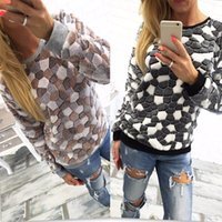 Cheap Wholesale-New 2015 Womens Winter Long Sleeve Pullover Jacket Sweater Coat Hooded Jumper Tops