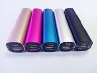 Wholesale Power Bank Portable mini cylinder charging treasure Ma Energy saving light is a perfect mobile charger supply