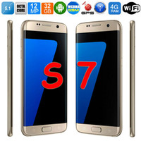 batteries film - 2017 New Arrival For Samsung Galaxy S7 Phone Unlock Smartphone S MTK6592 Octa Core G RAM GB Storage MP Original Logo Free Case Film