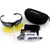 Wholesale ESS Crossbow US Military Tactical Goggles Tactical Ballistic Shooting Glasses Outdoors Hiking Camping Fishing Cycling Sunglasses