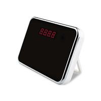 HD1080P Wi-Fi mini espía espejo reloj cámara de control remoto DV detección de movimiento oculto videocámara para la seguridad en el hogar (una libre 8G tarjeta micro SD)