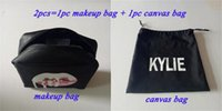 animal collection - 20lot Kylie Jenner Make Up kylie Bag kylie Canvas bag Birthday Collection Makeup Bag Kylie Lip Kit Bag High Quality