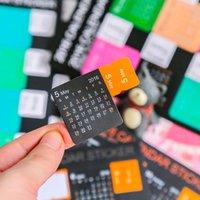 Wholesale 1 DIY Colourful Kawaii Cute Planner Calendar Scrapbooking Stationery Sticker Office School Supplies Kids Student Child