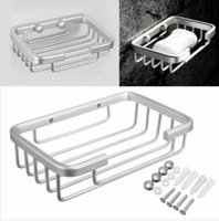 Wholesale Space Aluminum Square Multifunctional Bathroom Spacesaver Storage Soap Box x x Inches