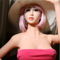 Wholesale 1 cm Brown Sexy Naked Woman Real Full Silicone Love Doll Male Masturbator Realistic Sex Dolls for Men