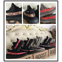 Wholesale Boost V2 Beluga Sply Black White Green Glow BB1829 Men Women Running Shoes Kanye West Yezzy Boost Season With Box