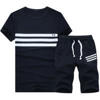 Pullover bape shorts - Tracksuit New Summer Sport Suit Men Fashion Shorts Set Plus Size XL Gym Hoodies Hip Hop Sweatshirts Men Training Suit