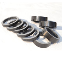 Wholesale 10pcs Road bike UD carbon fibre headset washer Mountain bicycle headset carbon washer stem spacers MTB parts mm