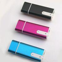 Wholesale Mini in Digital Voice Audio Recorder Sound Dictaphone G USB spy pen Flash Drive U disk pen drive Music player