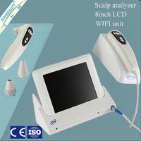 Wholesale Portable Boxy Mirror Machine inch LCD Skin Scope Analyzer Tester Skin and Hair Analyzer Machine