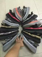 Wholesale 350 Boosts V2 SPLY Steel Grey Beluga Solar Red Sneaker Kanye West Boost V2 Season with Receipt Black with Red link White Link