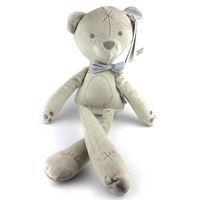 Venta al por mayor- Mamaspapas juguete de peluche de peluche muñeca de oso suave bebé sueño dormir cama historia Anime MamasPapas británico Aristocrat Kawaii muñeca