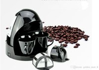 Wholesale 2016 Newest Fully Automatic Lovers Coffee Machine V Cups Drip Coffee Maker American Home and Office Coffe Machines