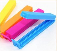 Wholesale 200 Home Food Close Clip Seal Bags Storage Sealing Rods Sealer Clips For Plastic bag Home Kitchen Storage Bag Sealing clamp