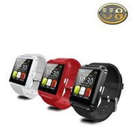 Wholesale Bluetooth Watch U8 Smart watch WristWatch Smartwatch digital sport watches for Apple IOS Android phone Wearable Electronic