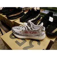 Wholesale Final Sale SPLY BZ0256 Kanye West Boost V2 Black White Men Women Christmas Winter Shoes True Boost Heels sply350 Lmited Size11