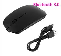 Wholesale 1200 DPI Wireless Bluetooth Mouse Optical Mouse for Windows Android Macbook Tablet PC