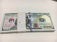 art coated paper - New arrive Earliest edition Money banknote USD100 for Movie prop and Education bank staff training paper fake money copy money children gift