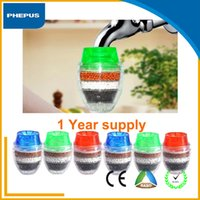 Wholesale PHEPUS Pack alkaline water filter mini zeolite water tap faucet purifiers china diret household activated carbon water filter