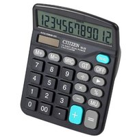 big digit calculator - Modern Portable Office Commercial Tool AA Battery or Solar in1 Powered Digit Electronic Calculator with Big Button