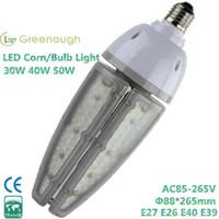 bedroom canopies - 130Lm W LED Corn bulb lights W W W Highbay Canopy light Garden Light CFL HID replacement E26 E27 E39 E40 screw base AC100 V