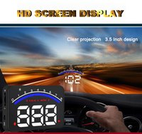 Wholesale Professional Car Alarm System M6 OBD2 HUD Projector Head Up Display KM h MPH Over Speeding Warning OBD II Inteface HUD Styling