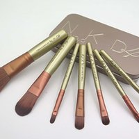 Wholesale NK4 Power brushes set fashion makeup brushes set Professional make up brush kit maquiagem maquillaje Iron original box