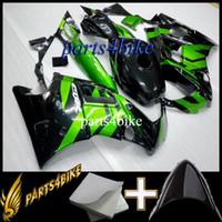 Carenado plástico del mercado de accesorios de la motocicleta para Honda CBR600F2 91 92 93 94 CBR 600 F2 1991 1992 1993 1994 verde negro
