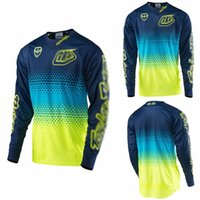 Wholesale TLD Motocross Jersey Off Road DOWNHILL Racing Shirt Motorcycle Jerseys Breathable Quick Drying