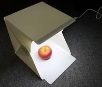 Vente en gros- Appareil Photo Studio Photographie Éclairage Photographie Éclairage Led Vidéo Tente Kit Mini Backdrop Boîte