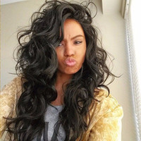 Wholesale Brazilian Human Hair Full Lace Wig With Baby Hair Glueless Loose Wave Wavy Lace Frontal Wig Natural Hairline For Black Woman Density