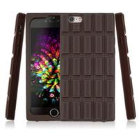 Housse en caoutchouc en silicone pour chrome en silicone pour iPhone 6 / 6s