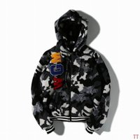 basic coat pattern - AAPE coat M XL Jan ttl01 women fashion cartoon printed bomber jacket basic coats brand luxury design jackets womens outwear female coat