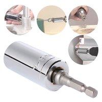 Wholesale 2 Piece Gator Grip Multi Function Ratchet Universal Socket Power Drill Adapter Car Hand Tools Repair Kit mm