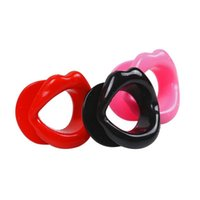 Unisex sex slave tools - Erotic Toys Opening Mouth Gag Sexy Lip Oral Sex Gag Bondage Restraints Fetish Slave Tools Adult Sex Toys for Couples