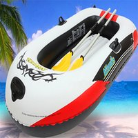 Wholesale 4 person latest design kayak marine paddle boat to load kgs with foot pump
