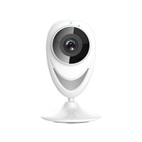 Wholesale EC network panoramic camera Wireless Wifi IP Camera Infrared Night Vision Remote monitor on smartphone