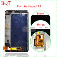 Wholesale Best Quality For HuaWei Mediapad X1 D U D L LCD Display Touch Screen Digitizer With Frame