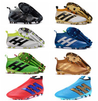 Soft Spike ace golds - Laceless Youth Soccer Cleats Ace purecontrol soccer boots Pure Control Football Shoes Kids boys Soccer shoes Mens Womens Original Cleats