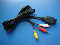 Alambre electrónico del cable al por mayor-1.8m NGCAV N6CAV para Wii / mini línea clásica de la conexión del juego HD de NES para Shippi libre