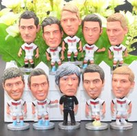 Wholesale 16 years of French European Cup Germany Oezil Klose Neuer Leff Muller Schweinsteiger action figure toy football souvenir birthday gift