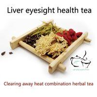 al por mayor té de la madreselva-[Envío libre] 2017 té de la salud de la vista del hígado del té del crisantemo del wolfberry de la madreselva que limpia lejos té herbario de la combinación del calor