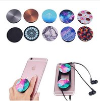 Wholesale 32 designs PopSockets Expanding Stand and Grip for Tablets Stand Bracket Phone Holder Pop Socket M Glue for iPhone Samsung