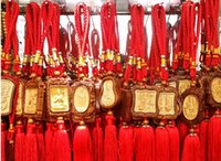 Wholesale Grass spend pear hang posted by huang wooden accessories pendant Wooden handicrafts manufacturers