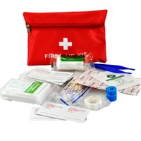 Wholesale Travel Portable First Aid Kit Outdoor Adventure Medical Box Survival Pack Mini Portable Small Kit Home Emergency Kit