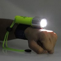Wholesale 2000Lum Multifunction T6 Dive Light aluminum Flashlight Torch F00130 SMR